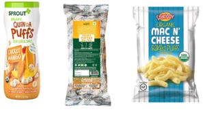 Concept 2 – Organic Puffed Snacks