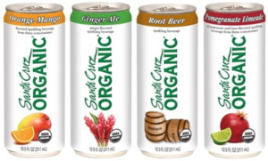 Organic Fizzy Drink