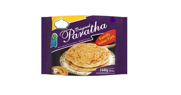 Organic Frozen Paratha