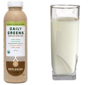 Concept 1 – Organic Hemp Milk