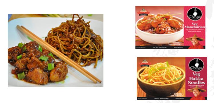 Frozen Noodles & Manchurian