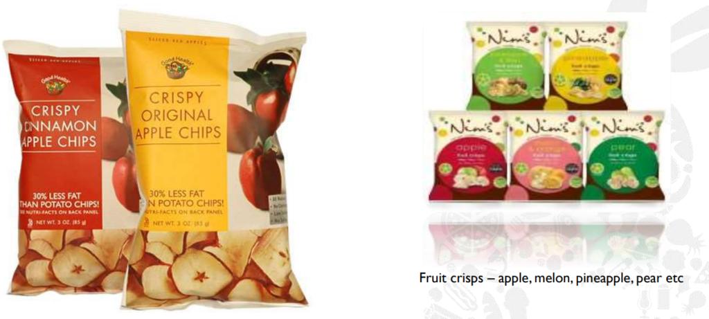 Fruit Crisps Product