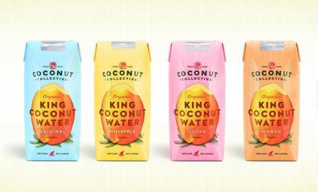 Flavoured Coconut Water